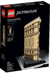 Lego Aquitectura Edificio Flatiron
