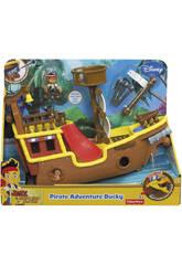 Jake Y Los Piratas Bucky Barco Pirata