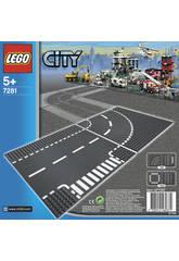 Lego City Juntas En T y Curvas