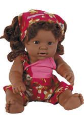 Muñeca Veraniega 35 cm. Vinilo Negrita
