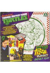 Tortugas Ninja Pop Up Pizza Playset