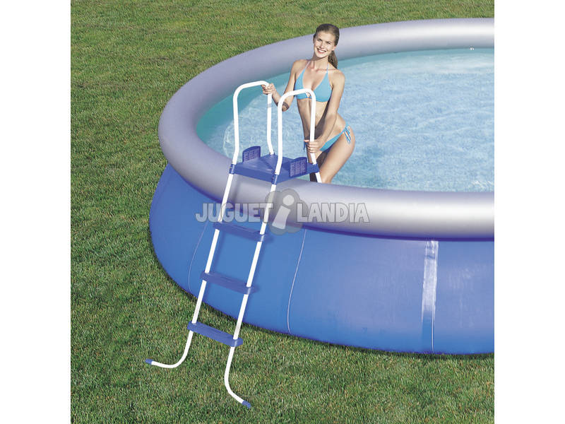 Acheter piscine d montable 549x122 cm bestway 57212 for Piscine demontable