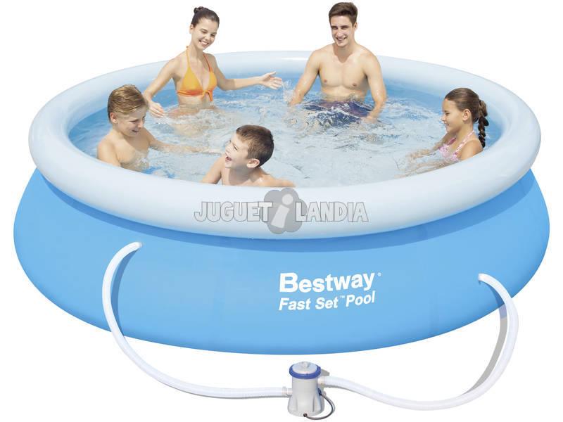 Acheter piscine d montable 305x76 cm bestway 57109 for Piscine demontable