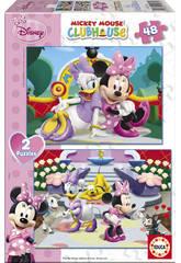 Puzzle 2x48 Minnie