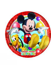 Mickey Mouse pack 8 platos 20 cm.