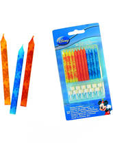 Mickey Mouse pack 12 velas cumplea�os