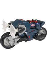 Spiderman Ultimate Coche Transformable en Moto