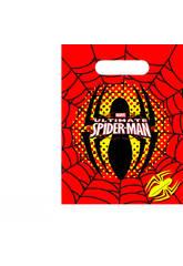 Spiderman pack 6 bolsas de fiesta