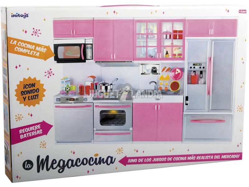 Acheter cuisine rose avec armoires et accessoires for Accessoire cuisine rose