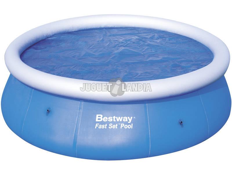 Acheter b che piscine 300 cm bestway 58062 solaire - Bache piscine bestway ...