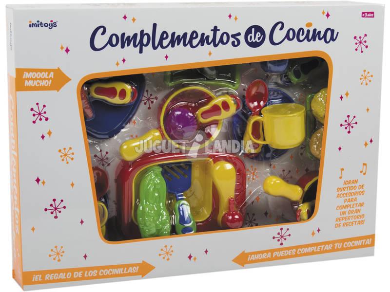 Complementos de cocina de juguete 28 piezas juguetilandia - Complementos de cocina ...