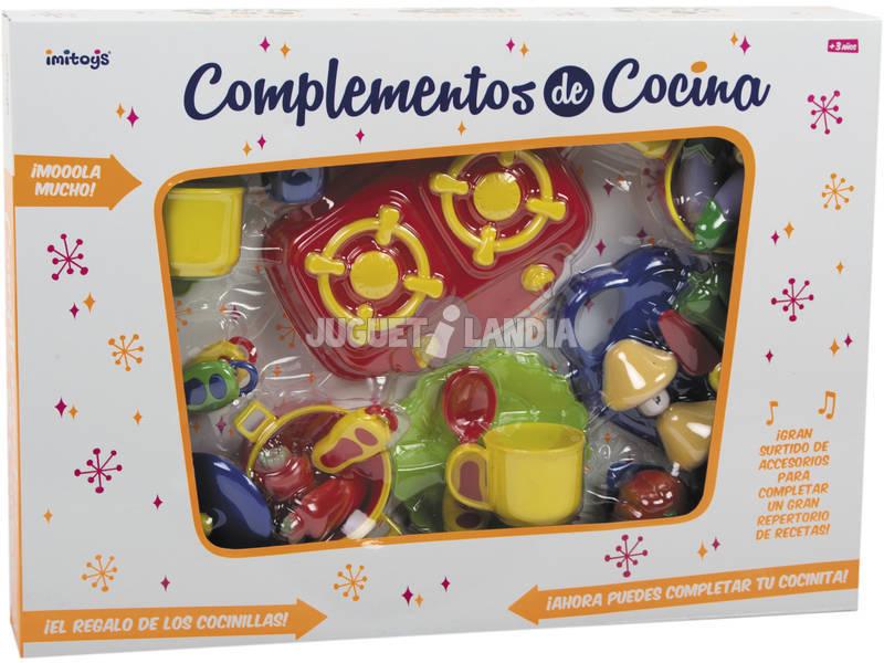 Complementos de cocina de juguete 31 piezas juguetilandia - Complementos de cocina ...
