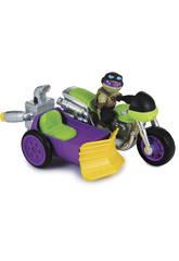 Tortugas Ninja. Veh�culo + figura