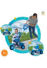 Triciclo Smart Trike Fisher Price 3En1 Elite Azul