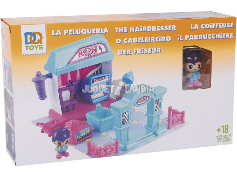 Acheter le salon de coiffure amusant juguetilandia for Nenuco salon de coiffure