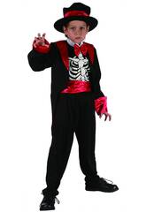Disfraz Esqueleto Niño Talla L