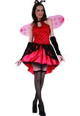 Disfraz Mariquita Antenas Mujer Talla L