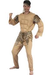 Disfraz Cavernicola Musculoso Hombre Talla L