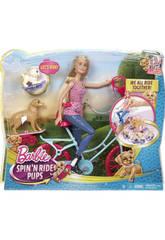 Barbie Bici y Perritos