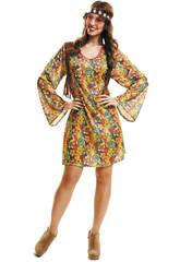Disfraz Mujer XL Happy Hippie