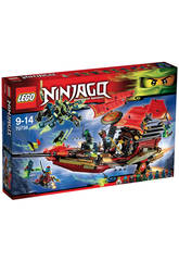 Lego El Vuelo Final del Barco de Asalto Ninja