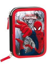Plumier 12 Doble Spiderman Dark
