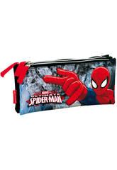 Portatodo Triple Plano Spiderman Dark