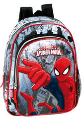 Day Pack Infantil Spiderman Dark
