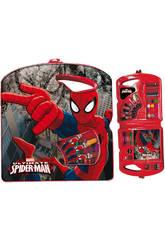 Maletin 40 piezas Spiderman Dark