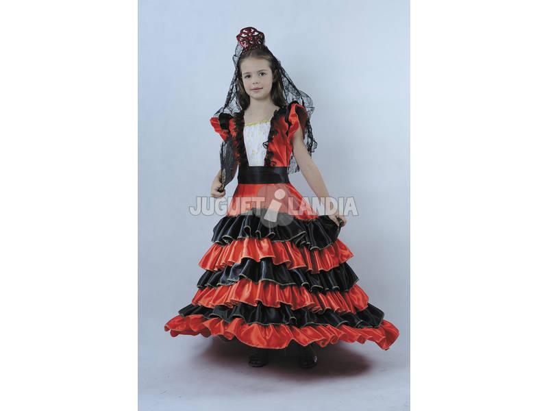 Disfraz Belleza Española Niña Talla S