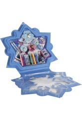 Frozen Cofre Copo de Nieve Manualidades 75 piezas