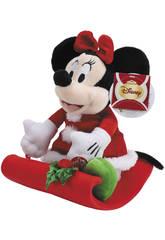 Minnie Navidad con trineo