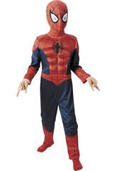 Disfraz ni�o Spiderman Ultimate Musculoso T-L