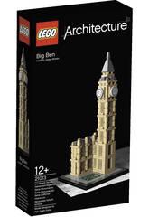 Lego Aquitectura Big Ben de Londres