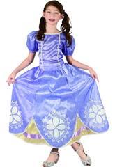 Disfraz Princesa Lila Niña Talla L