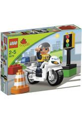 Lego Duplo Polic�a Moto De Polic�a