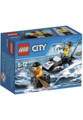 Lego City Huida en el Neumatico