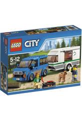 Lego City Furgoneta y Caravana