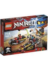 Lego Ninjago Persecucion en la Moto Ninja