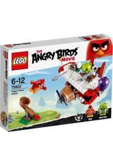 Lego Angry Birds Ataque En El Avi�n De Los Cerdos