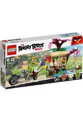 Lego Angry Birds Asalto a La Isla De Los P�jaros
