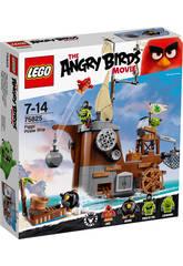 Lego Angry Birds Barco Pirata De Los Cerdos