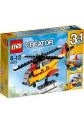 Lego Creator Helicoptero de Mercancias