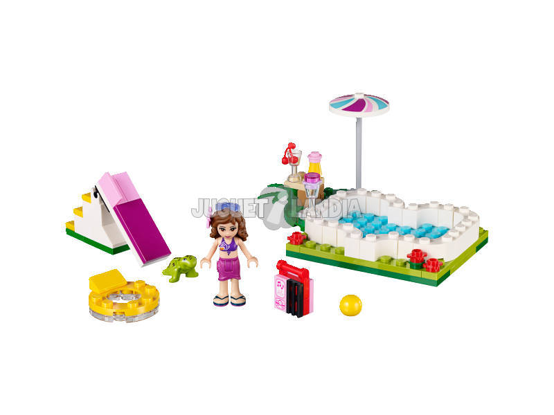 acheter lego friends la piscine d 39 olivia juguetilandia. Black Bedroom Furniture Sets. Home Design Ideas