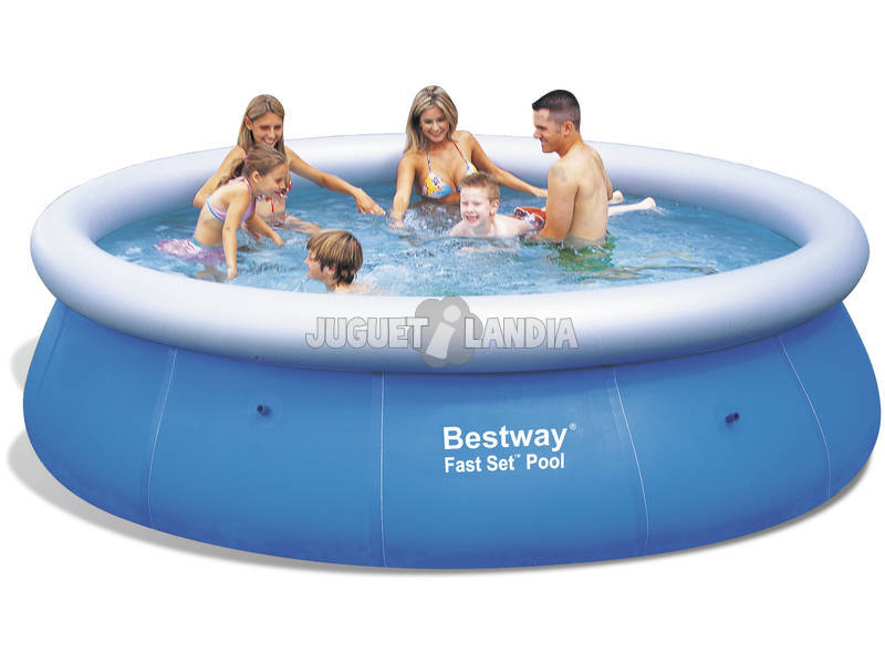 Acheter piscine d montable 366x91 cm bestway 57164 for Piscine demontable