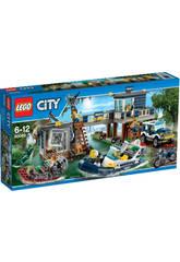 Lego City La Comisaria de la Policia del Pantano