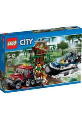 Lego City Arresto en Aerodeslizador