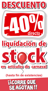 40% Dto. Carnaval