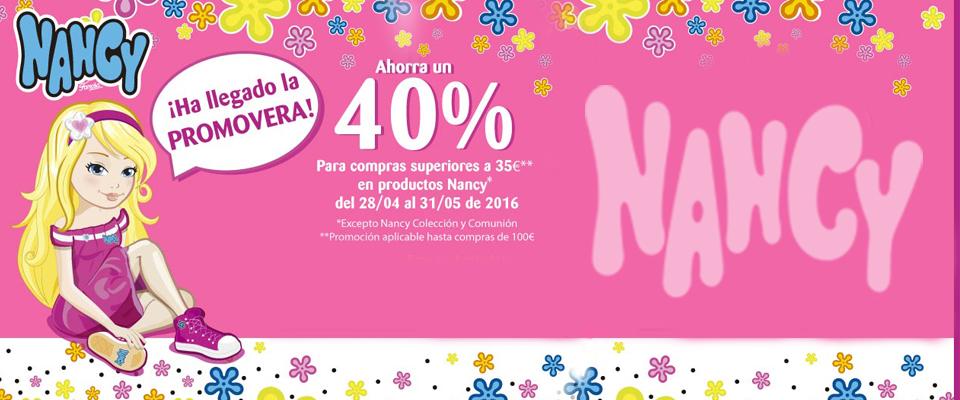 Oferta Nancy 40%