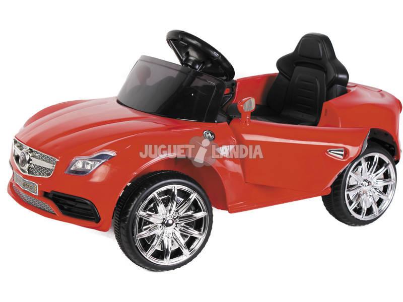 Carro Desportivo Luxuoso Rádio Cntrolo com Luz e Música 6v.